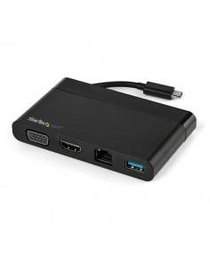 StarTech.com DKT30CHVCM kannettavien tietokoneiden telakka ja porttitoistin Langallinen USB 3.2 Gen 1 (3.1 1) Type-C Musta Start