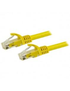 StarTech.com N6PATC15MYL nätverkskablar Gul 15 m Cat6 U/UTP (UTP) Startech N6PATC15MYL - 1