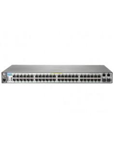 Hewlett Packard Enterprise 2620-48-PoE+ Managed L2 Fast Ethernet (10/100) Power over (PoE) 1U Grey Hp J9627A#ABB - 1