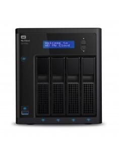 Western Digital My Cloud EX4100 NAS Desktop Ethernet LAN Black Armada 388 Western Digital WDBWZE0080KBK-EESN - 1