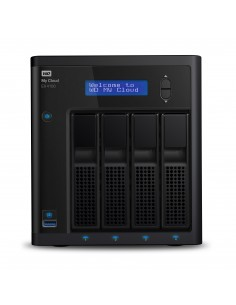 Western Digital My Cloud EX4100 NAS Desktop Ethernet LAN Black Armada 388 Western Digital WDBWZE0320KBK-EESN - 1