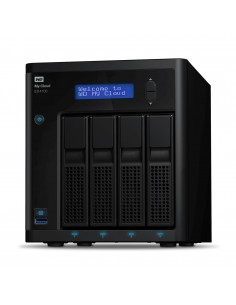 Western Digital My Cloud Pro EX4100 NAS Desktop Ethernet LAN Black Armada 388 Western Digital WDBWZE0400KBK-EESN - 1