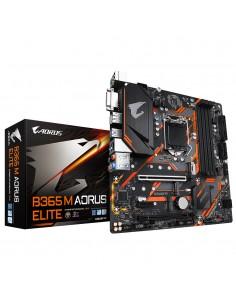Gigabyte B365 M AORUS ELITE motherboard Intel LGA 1151 (Socket H4) micro ATX Gigabyte B365 M AORUS ELITE - 1