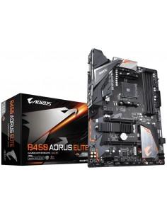 Gigabyte B450 AORUS ELITE moderkort AMD Uttag AM4 ATX Gigabyte B450 AORUS ELITE - 1