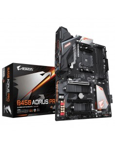Gigabyte B450 AORUS PRO (rev. 1.0) AMD Kanta AM4 ATX Gigabyte B450 AORUS PRO - 1