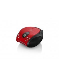 Lenco SCD-24 Digital Black, Red Lenco SCD24RO/SW - 1