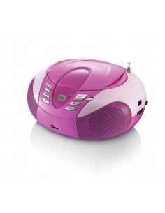 Lenco SCD-37 Digital Pink Lenco SCD37USBP - 1