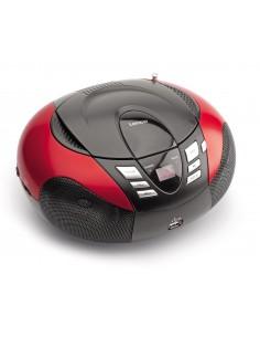 Lenco SCD-37 Digitaalinen Musta, Punainen Lenco SCD37USBR - 1