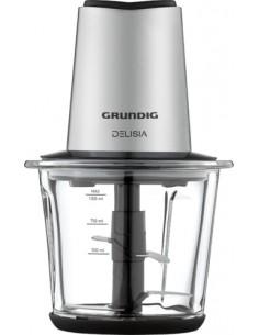 Grundig CH 8680 electric food chopper 1 L 800 W Black, Stainless steel Grundig CH 8680 - 1