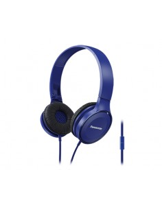 Panasonic RP-HF100ME Kuulokkeet Pääpanta 3.5 mm liitin Sininen Panasonic RP-HF100ME-A - 1