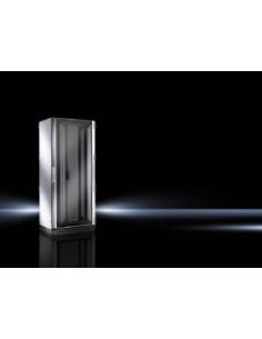 Rittal 5509.151 rack cabinet 42U Freestanding Black, Grey Rittal 5509151 - 1