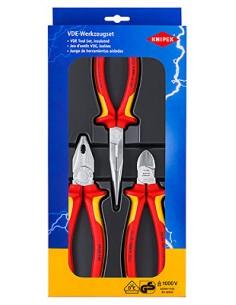 Knipex 00 20 12 tekninen työkalusetti 3 työkalua Knipex 00 20 12 - 1