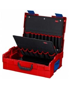 Knipex 00 21 19 LB työkalulaatikko Musta, Sininen, Punainen Akryylinitriilibutadieenistyreeni (ABS) Knipex 00 21 19 LB - 1