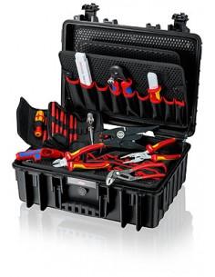 Knipex Werkzeugkoffer Robust23 Elektro Knipex 00 21 35 - 1