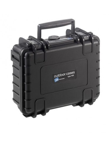 B&W Type 500 DJI Osmo Pocket kameradroonin kotelo Salkku Musta Polypropeeni (PP) B&w International 500/B/OSMOP - 1