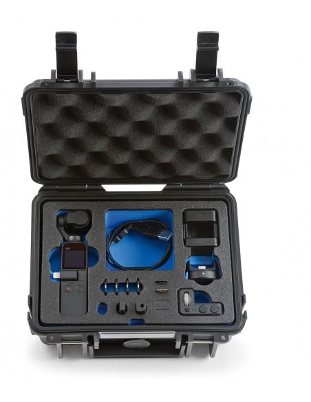 B&W Type 500 DJI Osmo Pocket kameradroonin kotelo Salkku Musta Polypropeeni (PP) B&w International 500/B/OSMOP - 3