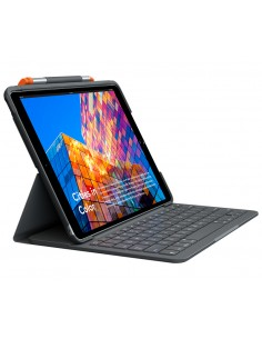 Logitech Slim Folio QWERTY Englanti (UK) Grafiitti Bluetooth Logitech 920-009489 - 1