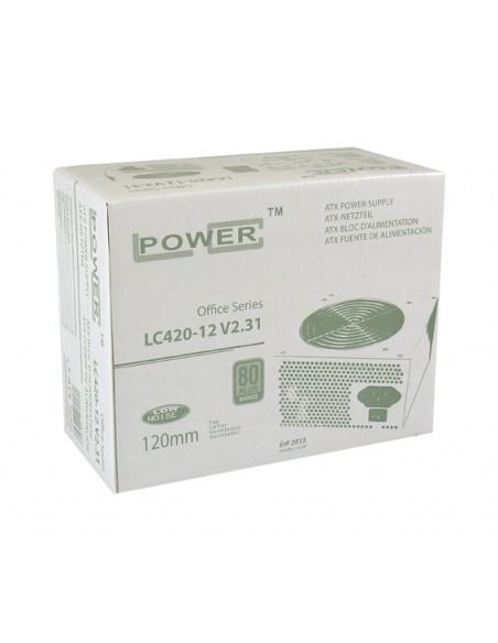 LC-Power LC420-12 V2.31 virtalähdeyksikkö 350 W 20+4 pin ATX Harmaa Lc Power LC420-12 V2.31 - 2