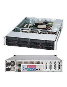 Supermicro SC825TQ-R740LPB Teline Musta 740 W Supermicro CSE-825TQ-R740LPB - 1