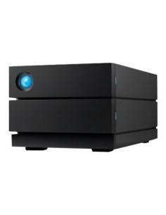 LaCie 2big RAID 16TB levyjärjestelmä Työpöytä Musta Lacie STHJ16000800 - 1