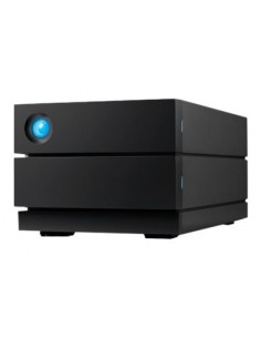 Seagate 2big RAID levyjärjestelmä 28 TB Työpöytä Musta Lacie STHJ28000800 - 1