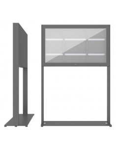 """SMS Smart Media Solutions 43L Casing Freestand Basic G2 DG 109.2 cm (43"""") Grå Sms Smart Media Solutions 702-004-22 - 1"""