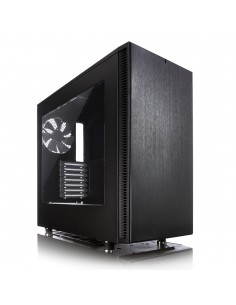Fractal Design Define S - Window Midi Tower Musta Fractal Design FD-CA-DEF-S-BK-W - 1