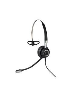 Jabra Biz 2400 II QD Mono NC 3-in-1 Wideband Kuulokkeet Ear-hook, Pääpanta, Niskanauha Musta, Hopea Gn Netcom 2486-820-209 - 1