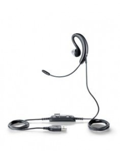Jabra UC Voice 250 MS Kuulokkeet Ear-hook,In-ear Musta Gn Netcom 2507-823-109 - 1