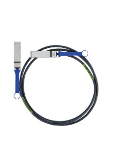 Mellanox Technologies 1m QSFP InfiniBand-kaapeli Musta Mellanox Hw MC2207130-001 - 1