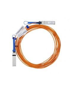 Mellanox Technologies LinkX InfiniBand-kaapeli 50 m QSFP Oranssi Mellanox Hw MC220731V-050 - 1