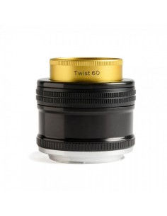 Lensbaby Twist 60 SLR Musta, Kulta, Hopea Lensbaby LBT60C - 1