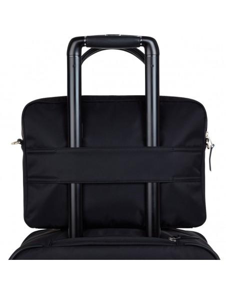 """Knomo Hanover laukku kannettavalle tietokoneelle 35.6 cm (14"""") Salkku Musta Knomo 119-101-BLK2 - 4"""