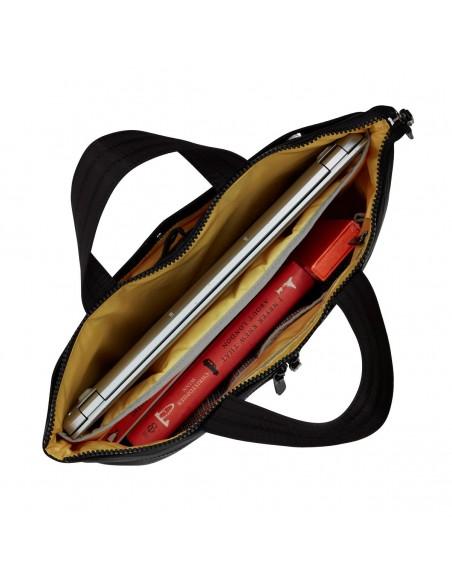 """Knomo COPENHAGEN laukku kannettavalle tietokoneelle 35.6 cm (14"""") Salkku Musta Knomo 129-101-BLK2 - 4"""