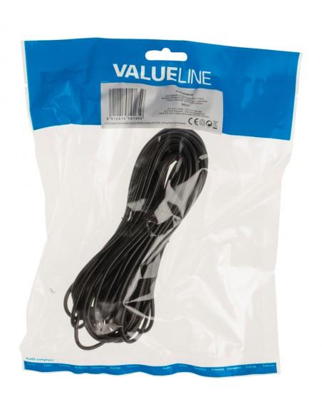 Valueline VLAP22050B100 audiokaapeli 10 m 3.5mm Musta Valueline VLAP22050B100 - 3