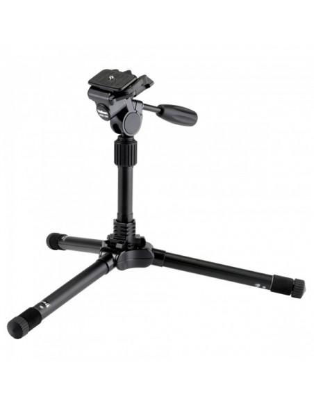 Velbon 13246 kolmijalka Digitaalinen ja elokuva-kamerat 3 jalkoja Musta Velbon 13246 - 2