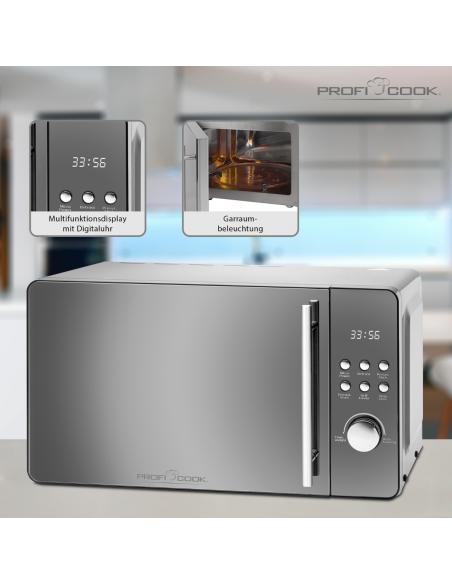 ProfiCook PC-MWG 1175 Yhdistelmämikroaaltouuni 20 L 800 W Hopea Proficook 501175 - 3