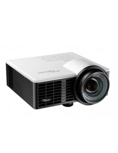Optoma ML750ST datorprojektorer Portabel projektor 800 ANSI-lumen DLP WXGA (1280x720) 3D kompatibilitet Svart, Vit Optoma 95.71Z