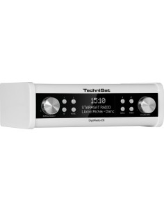 TechniSat DigitRadio 20 Portable Analog & digital White Technisat 0001/4987 - 1