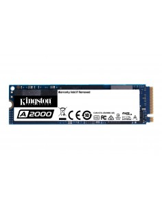 Kingston Technology A2000 M.2 500 GB PCI Express 3.0 3D NAND NVMe Kingston SA2000M8/500G - 1