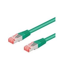 Digitus 2m Cat6a S/FTP nätverkskablar Grön (S-STP) Digitus DK-1644-A-020/G - 1
