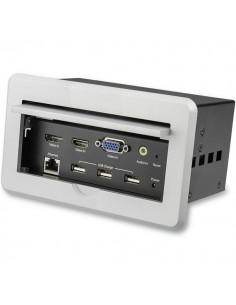 StarTech.com BOX4HDECP2 AV-neuvottelusilta 3840 x 2160 pikseliä Ethernet LAN Hopea Startech BOX4HDECP2 - 1