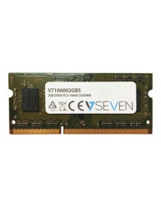 V7 V7106002GBS muistimoduuli 2 GB 1 x DDR3 1333 MHz V7 Ingram Micro V7106002GBS - 1