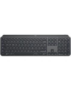 Logitech MX Keys näppäimistö RF Wireless + Bluetooth QWERTZ Saksa Musta Logitech 920-009403 - 1