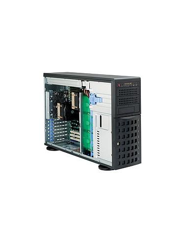 Supermicro CSE-745TQ-R1200B tietokonekotelo Midi Tower Musta 1200 W Supermicro CSE-745TQ-R1200B - 1