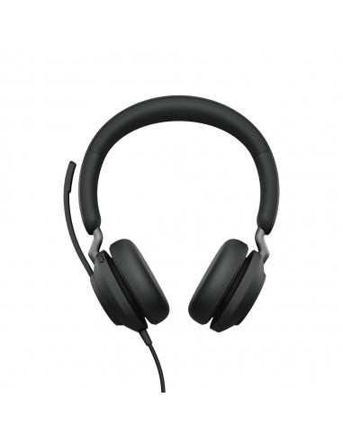Jabra Evolve2 40. UC Stereo Kuulokkeet Pääpanta Musta Jabra 24089-989-999 - 1