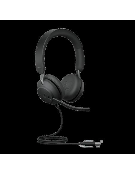 Jabra Evolve2 40. UC Stereo Kuulokkeet Pääpanta Musta Jabra 24089-989-999 - 2