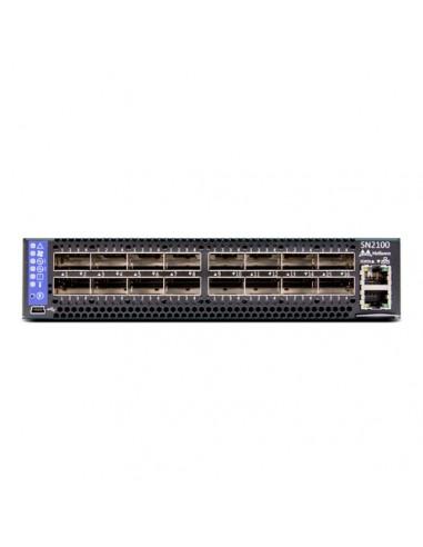 Mellanox Technologies MSN2100-BB2RC verkkokytkin Hallittu L3 Ei mitään Musta 1U Mellanox Hw MSN2100-BB2RC - 1