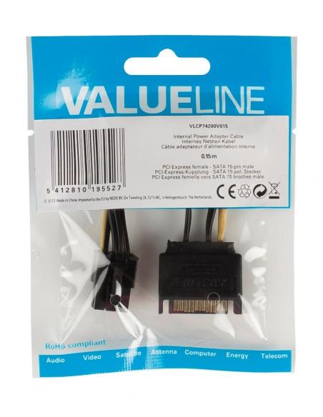 Valueline VLCP74200V015 sisäinen virtakaapeli Valueline VLCP74200V015 - 2