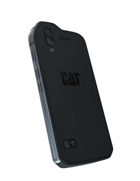 "CAT S61 13.2 cm (5.2"") 4 GB 64 Kaksois-SIM 4G USB Type-C Musta Android 8.1 4500 mAh Cat CS61-DAB-ROW-EN - 3"